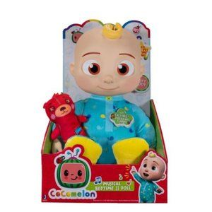 COCOMELON Plush Musical Bedtime JJ Doll